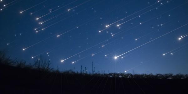 pioggia di stelle nel cielo di maggio