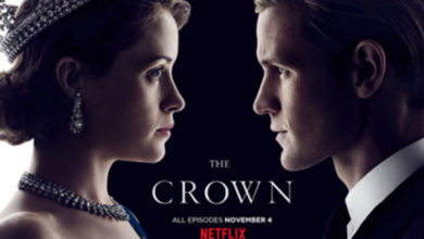 the crown locandina
