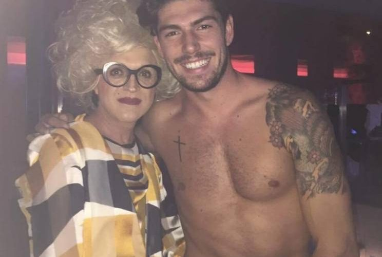 Ignazio Moser, la foto hot con la drag queen